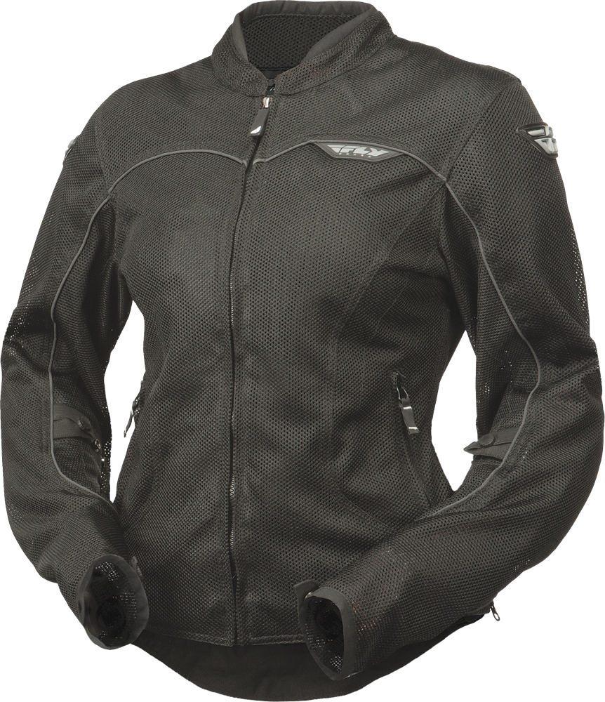 FLUX AIR LADIES JACKET BLACK 2X