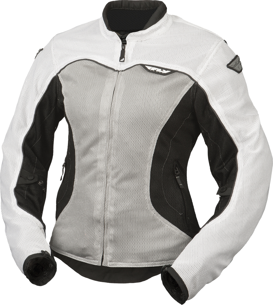 FLUX AIR LADIES JACKET WHITE/SILVER L