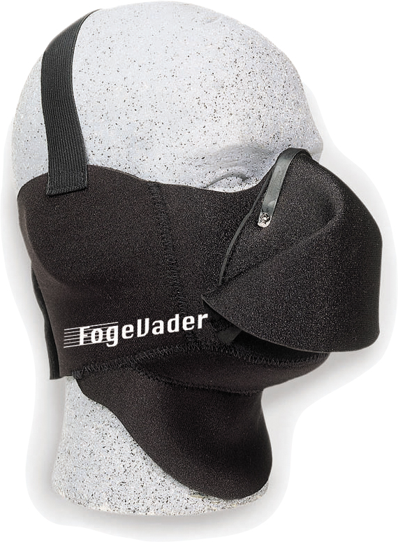 FOGEVADER BREATH DEFLECTOR MASK (BLACK)