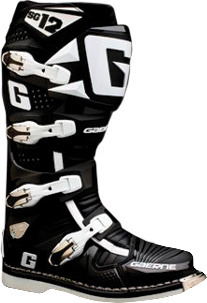 SG-10/12 LONG BOOT STRAP 6-14 (BLACK)