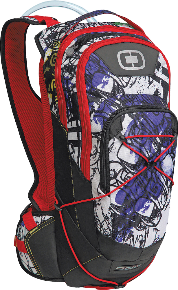 BAJA 70 HYDRATION PACK GRAFFITI 18 X9 X5.5