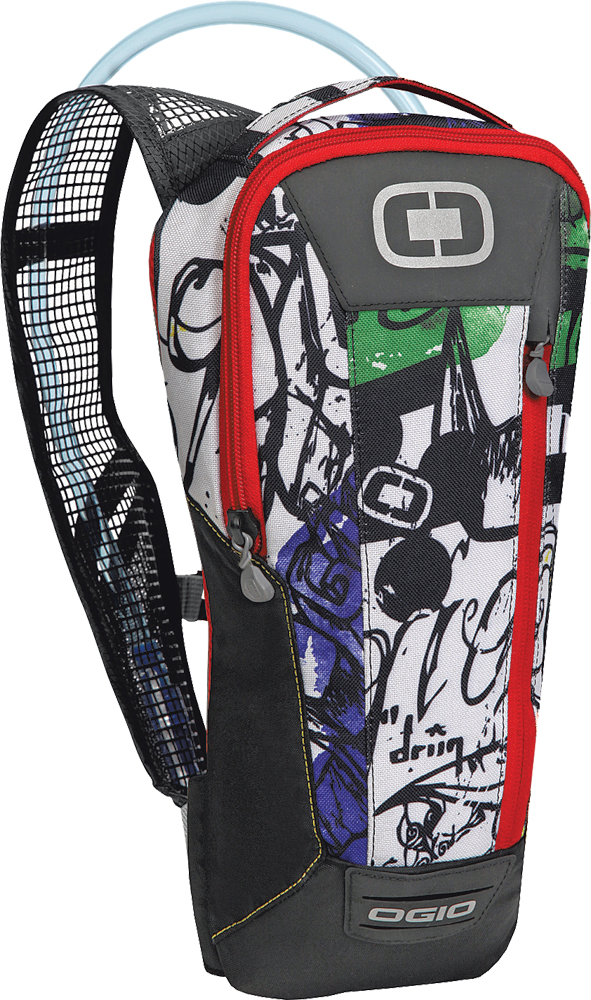 ERZBERG 70 HYDRATION PACK GRAFFITI 14 X7 X2