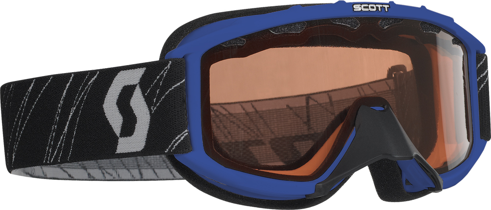 89 SI SNOCROSS YOUTH GOGGLE BLUE W/ACS ROSE LENS