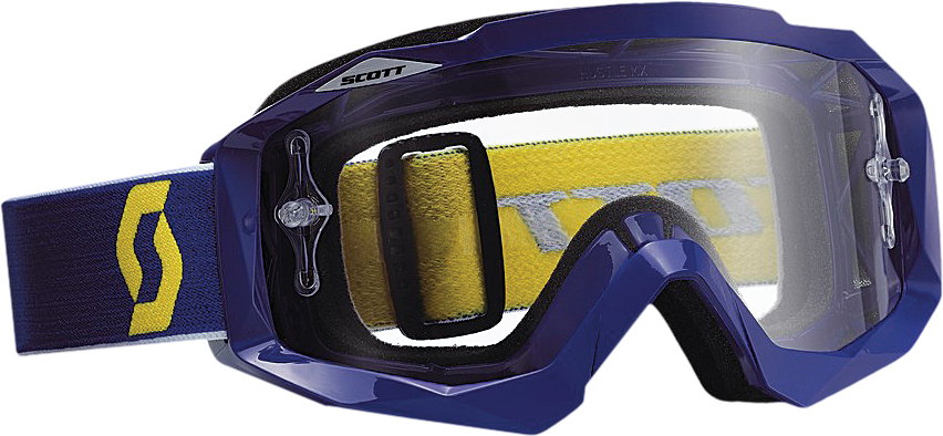 HUSTLE GOGGLE BLUE W/CLEAR LENS