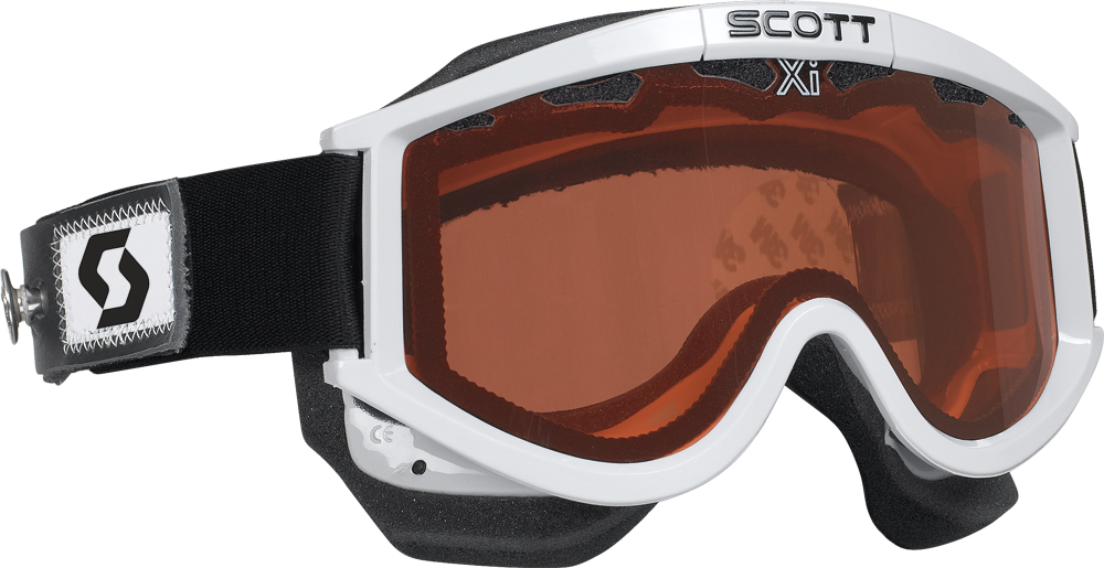 87 OTG GOGGLE WHITE W/SPEED STRAP