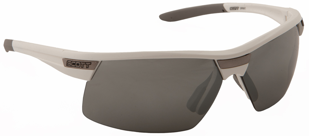 SPRINT SUNGLASSES WHITE W/SILVER ION LENS
