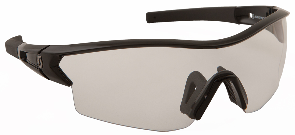 LEAP SUNGLASSES BLACK W/CLEAR LENS
