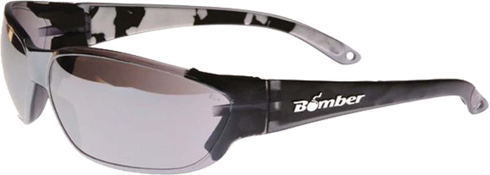 H-BOMB SAFETY SUNGLASSES SMOKEW/MIRROR LENS