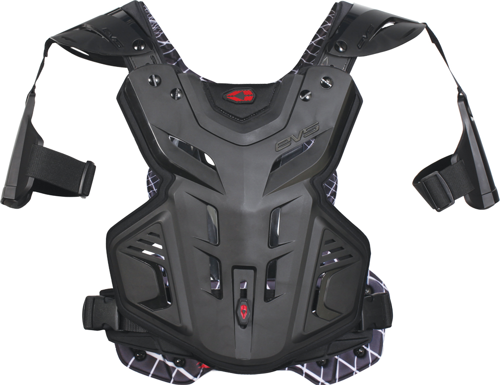 F2 CHEST PROTECTOR BLACK LG
