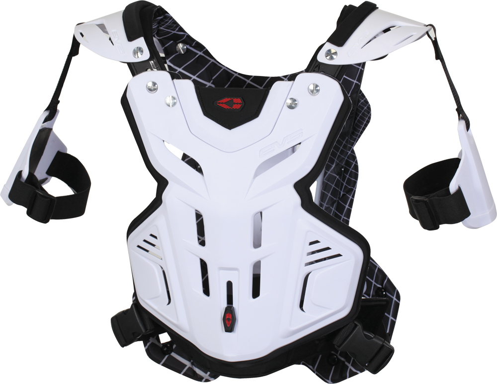 F2 CHEST PROTECTOR WHITE LG