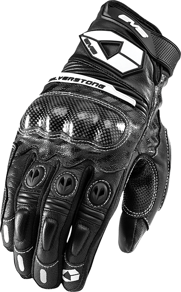 SILVERSTONE LEATHER GLOVES BLACK S