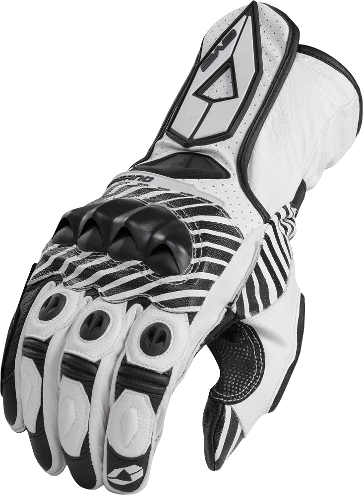 MISANO SPORT GLOVES WHITE S