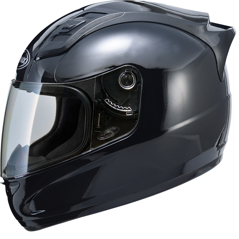 GM69 F/F HELMET GLOSS BLACK X