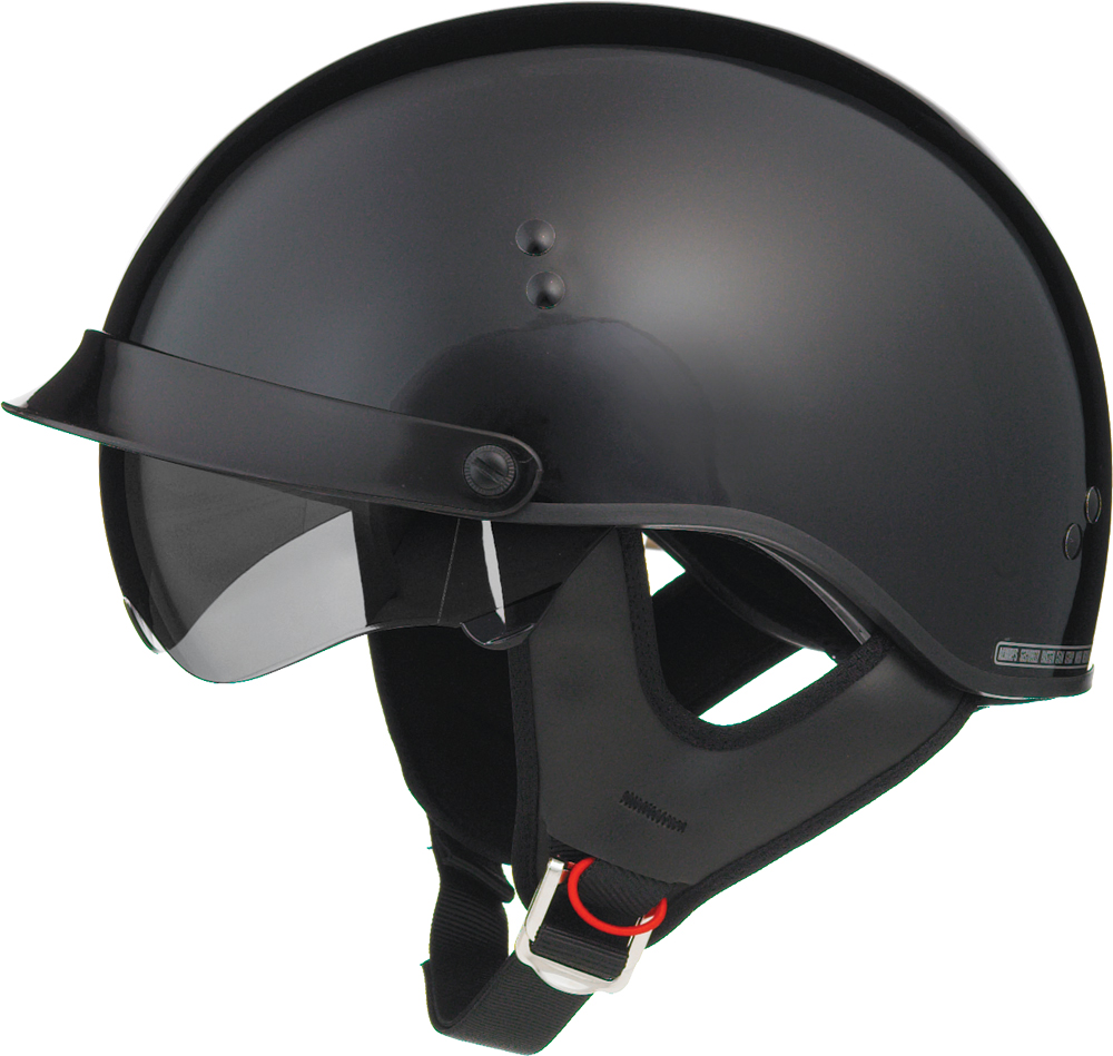 GM65 FULL DRESS HALF HELMET BLACK L
