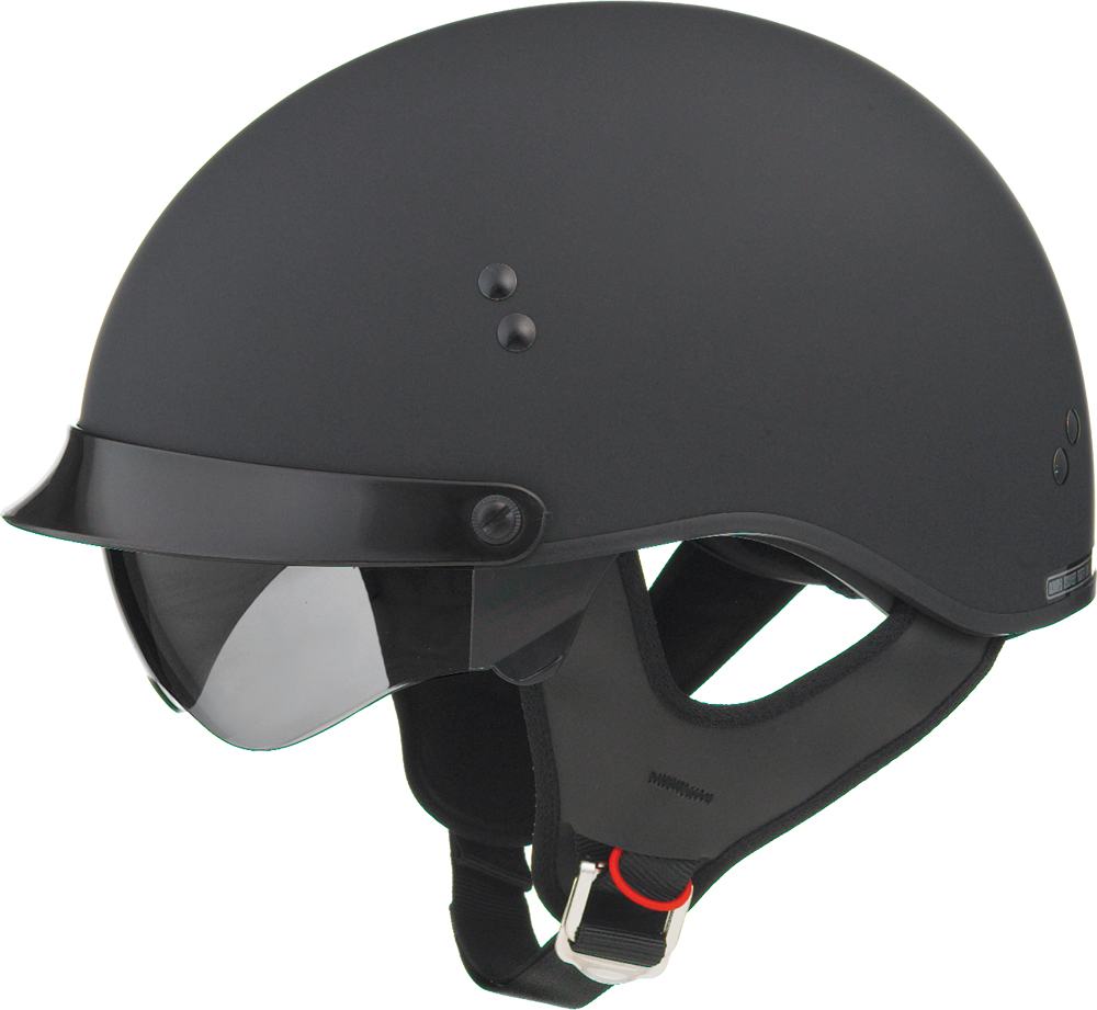 GM65 FULL DRESS HALF HELMET FLAT BLACK M