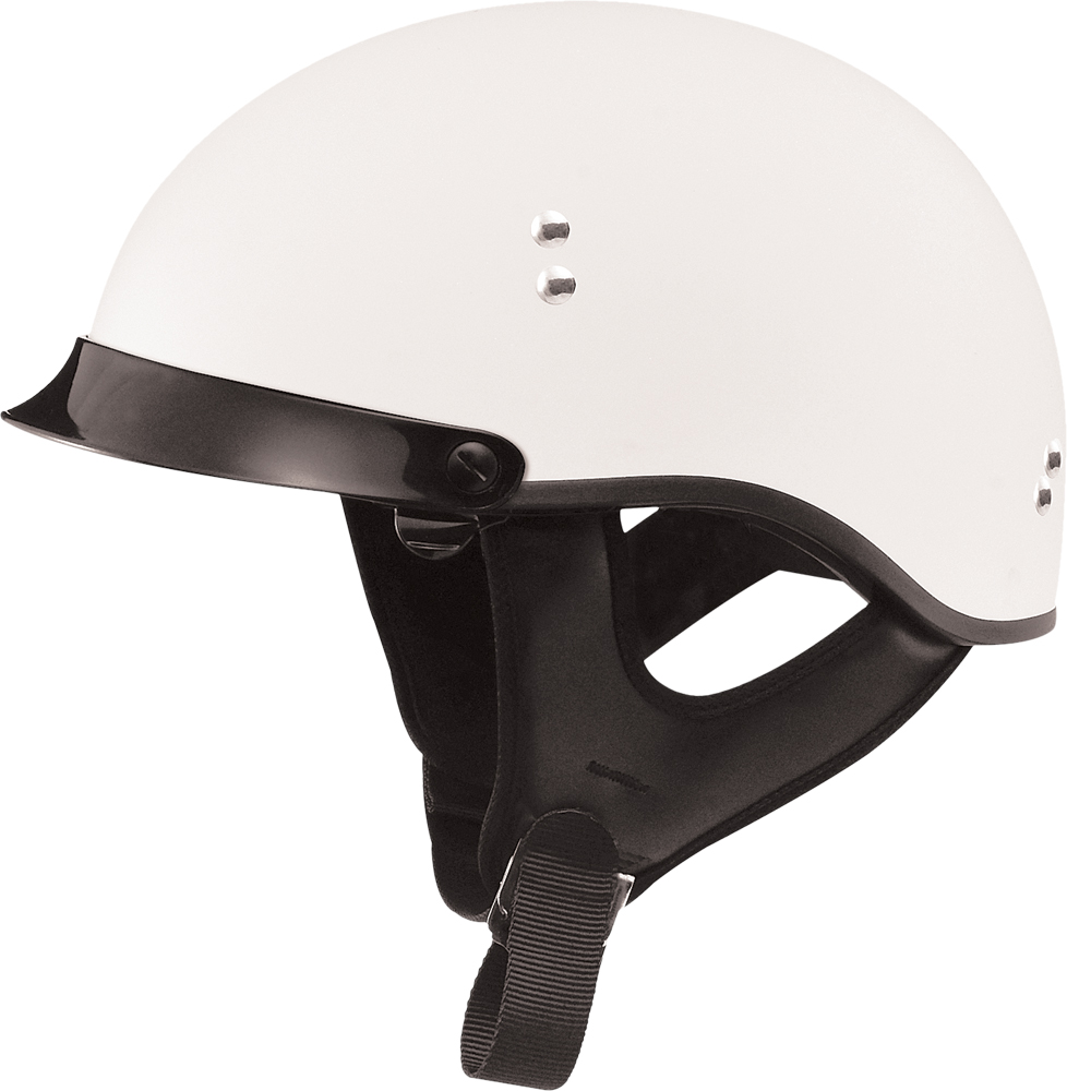 GM65 FULL DRESS HALF HELMET FLAT WHITE S