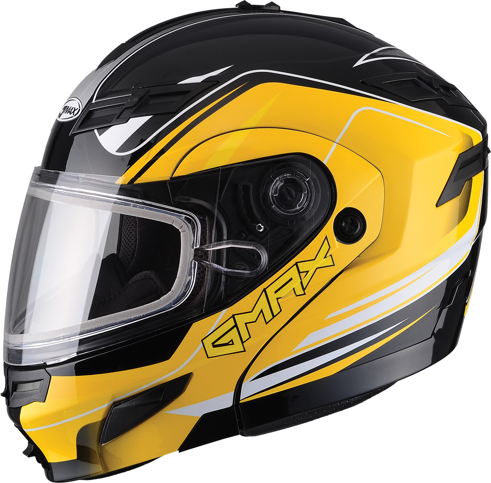 GM54S MODULAR HELMET TERRAIN BLACK/YELLOW 3X