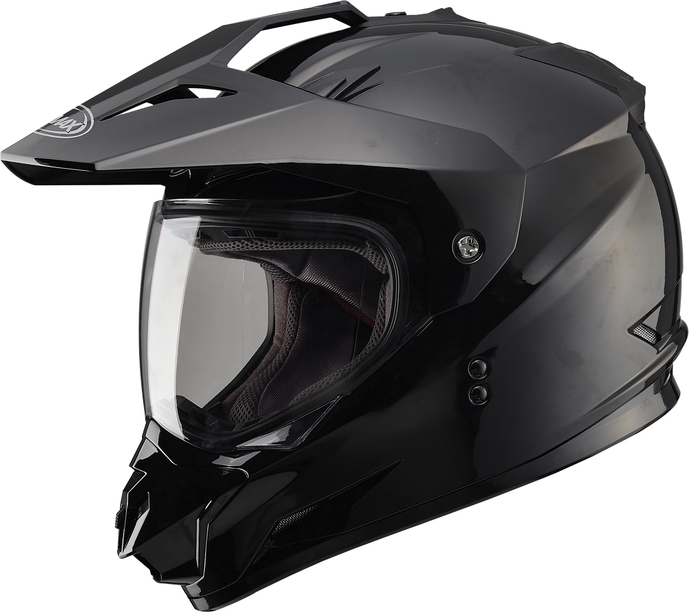 GM11 D/S SOLID HELMET BLACK L