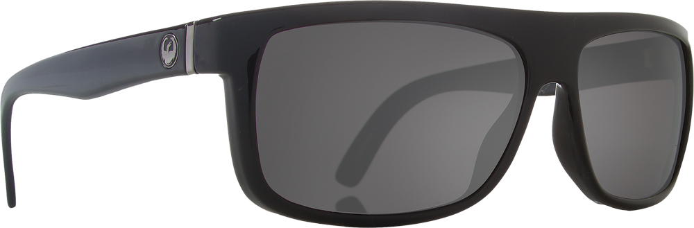 WORMSER SUNGLASSES JET W/GREY LENS