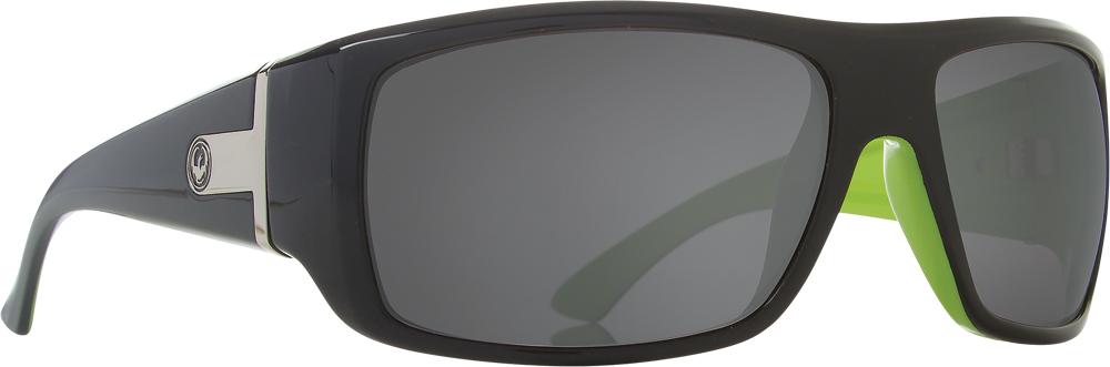 VANTAGE SUNGLASSES JET LIME W/GREY LENS