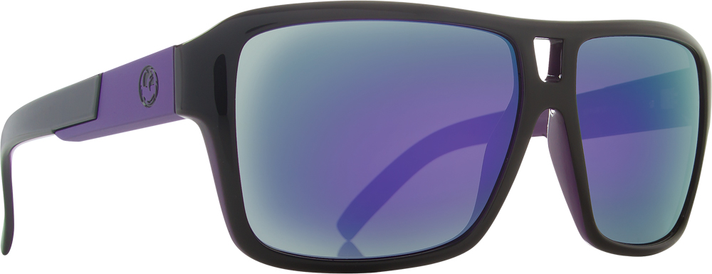 JAM SUNGLASSES JET PURPLE W/PURPLE ION LENS