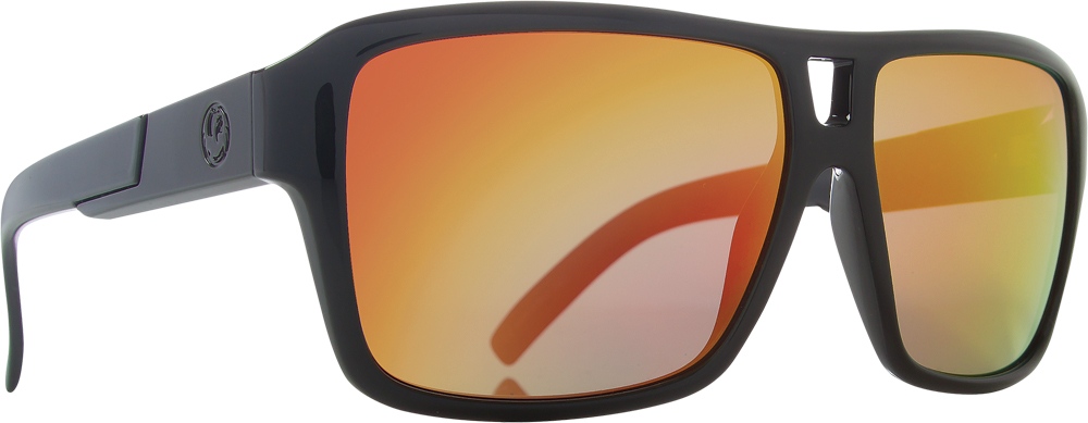 JAM SUNGLASSES JET W/RED ION LENS