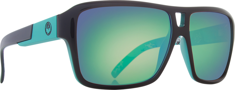 THE JAM SUNGLASSES OWEN WRIGHT W/GREEN ION. LENS