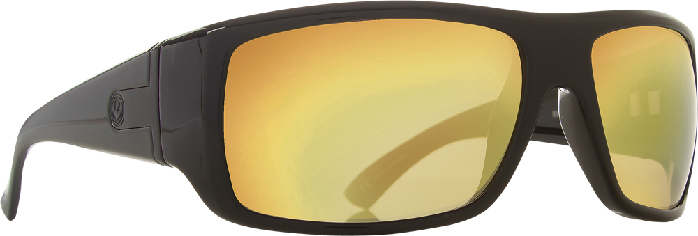 VANTAGE SUNGLASSES BLACK GOLD W/GOLD ION LENS