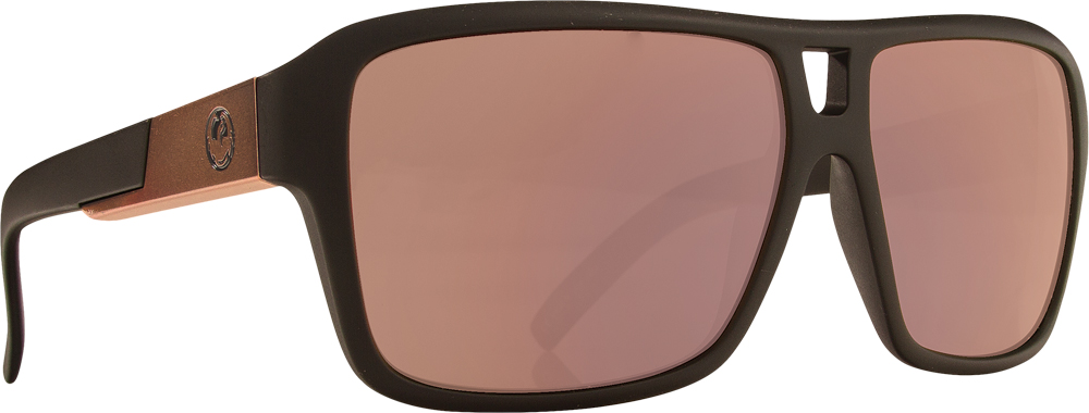 THE JAM SUNGLASSES ROSE W/GOLD ION LENS