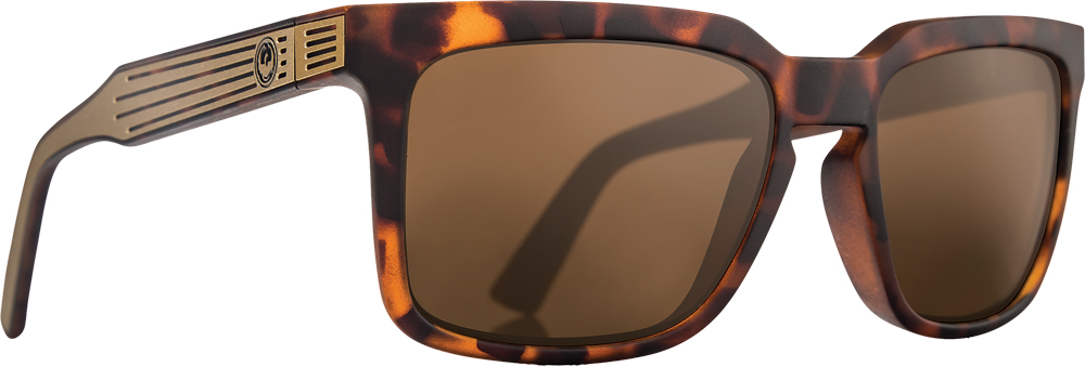 MR. BLONDE SUNGLASSES MATTE TORTOISE W/PERF. POLAR LENS