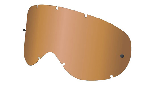 MDX ALL WEATHER LENS AMBER W/POST
