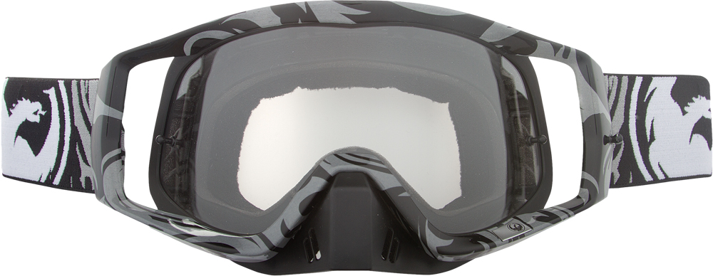 VENDETTA GOGGLE CHRONIC W/CLEAR AFT LENS