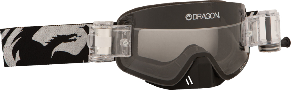 NFX GOGGLE COAL W/CLEAR RAPID ROLL LENS
