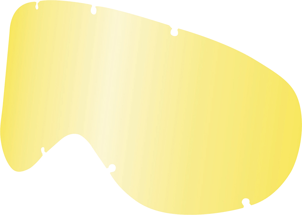 MDX SNOW LENS ALL WEATHER W/POST (YELLOW)