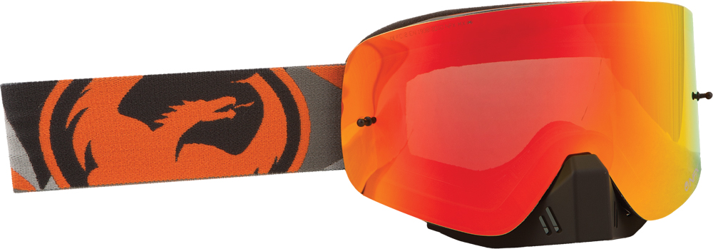 NFX GOGGLE FLAIR ORANGE W/RED ION LENS