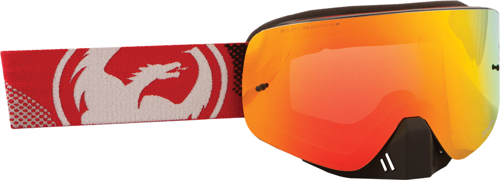 NFX GOGGLE FADE W/RED ION LENS