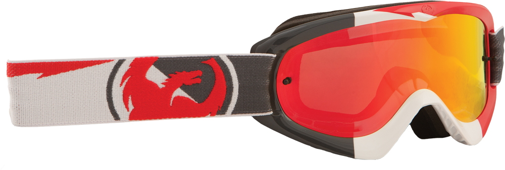 MDX GOGGLE INCLINE W/RED ION LENS
