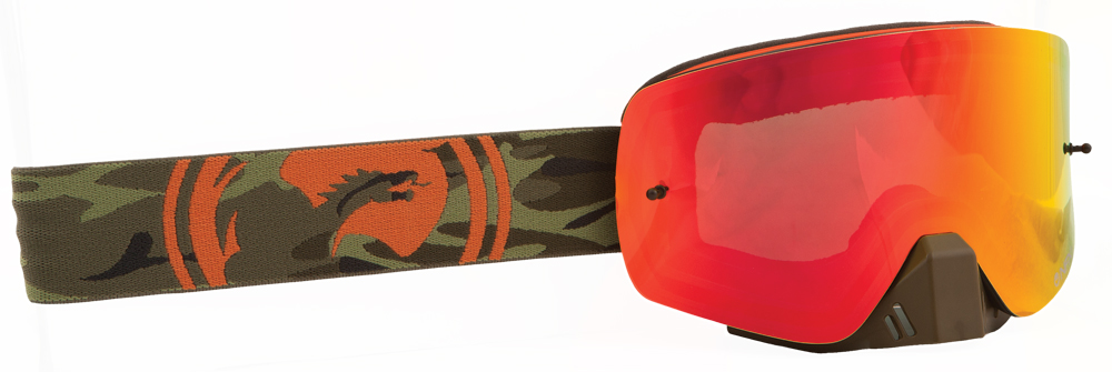 NFXS GOGGLE CAMO W/RED ION LENS
