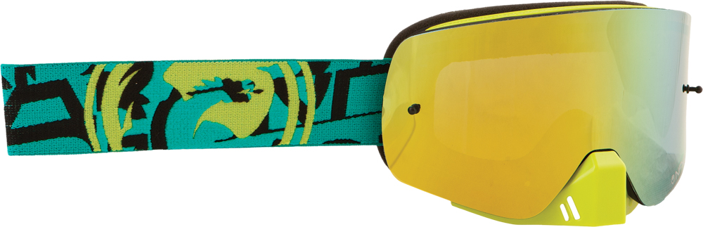NFXS GOGGLE CAST W/SMOKE GOLD LENS