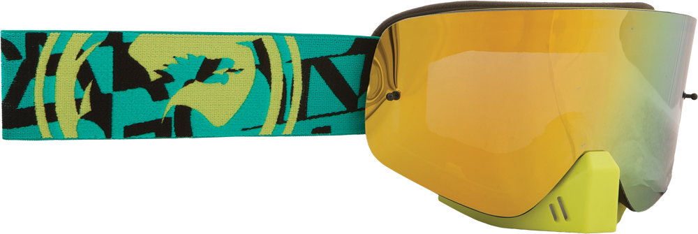 NFX GOGGLE CAST W/SMOKE GOLD LENS