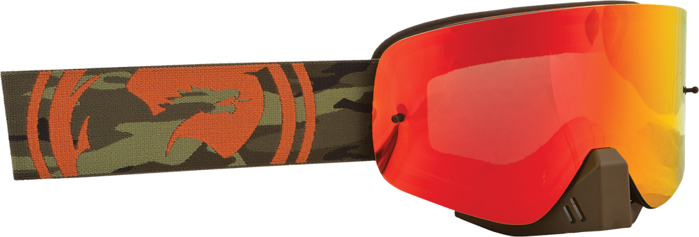 NFX GOGGLE CAMO W/RED ION LENS