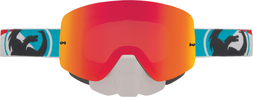 NFXS SNOW GOGGLE INCLINE W/RED ION LENS