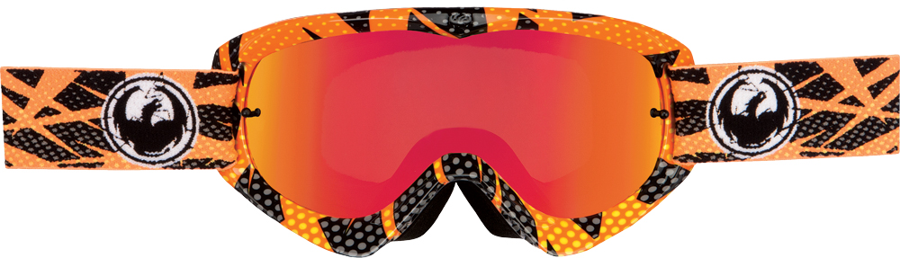 MDX GOGGLE NETTLE W/RED ION LENS