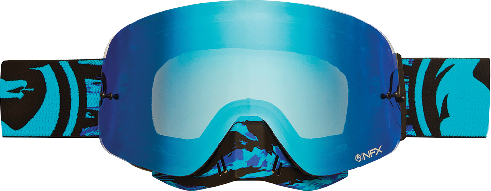 NFX GOGGLE FRENZY W/BLUE STEEL LENS