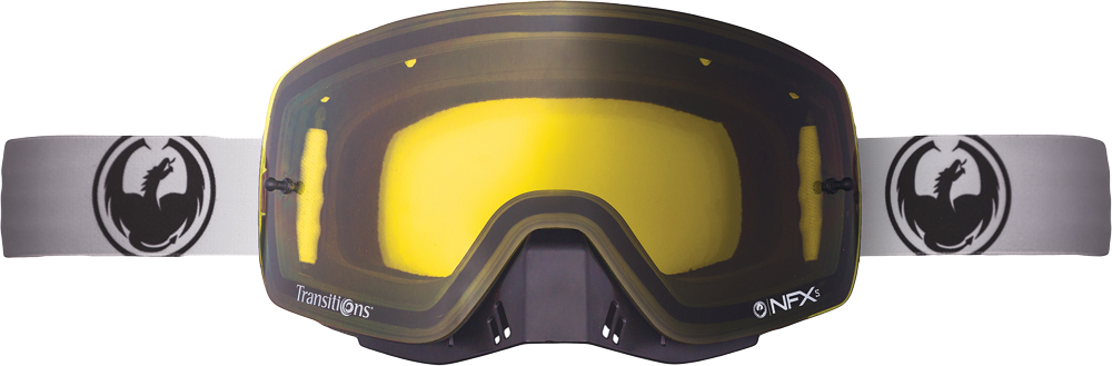 NFXS GOGGLE STRETCH W/TRANSITION YELLOW LENS