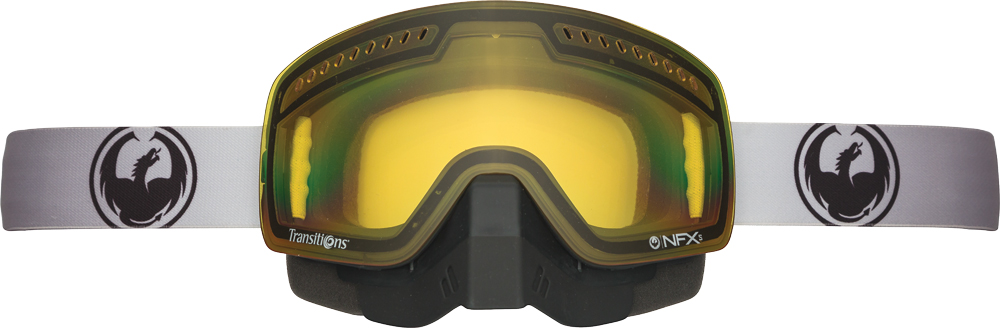 NFXS TRANSITIONS GOGGLE STRETCH W/YELLOW LENS