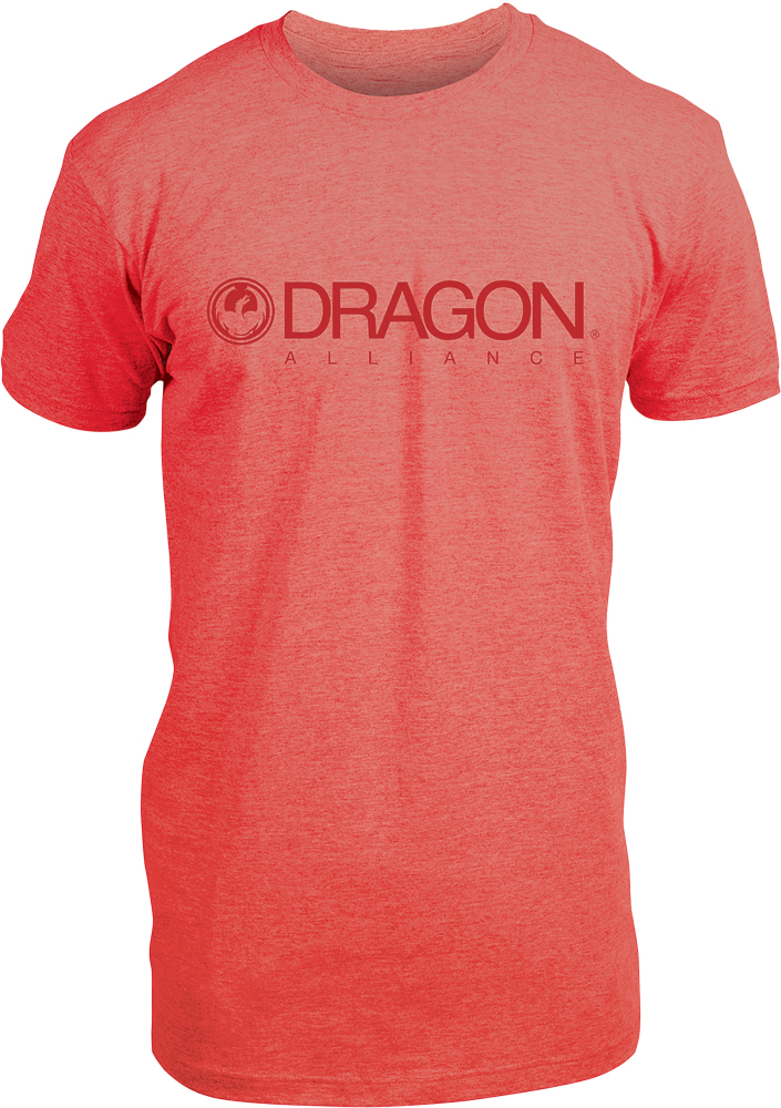 TRADEMARK SPECIAL TEE RED HEATHER L