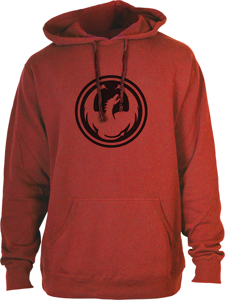 ICON HOODIE RED M