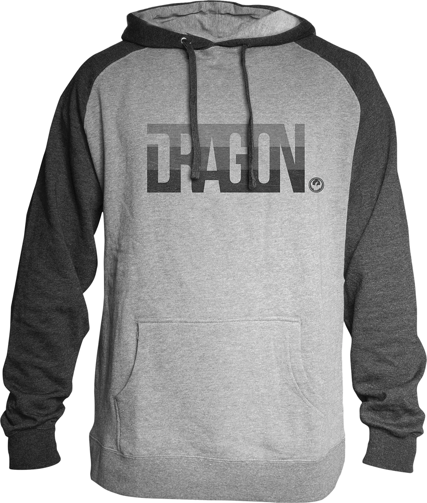 FIRM HOODIE CHARCOAL HEATHER L