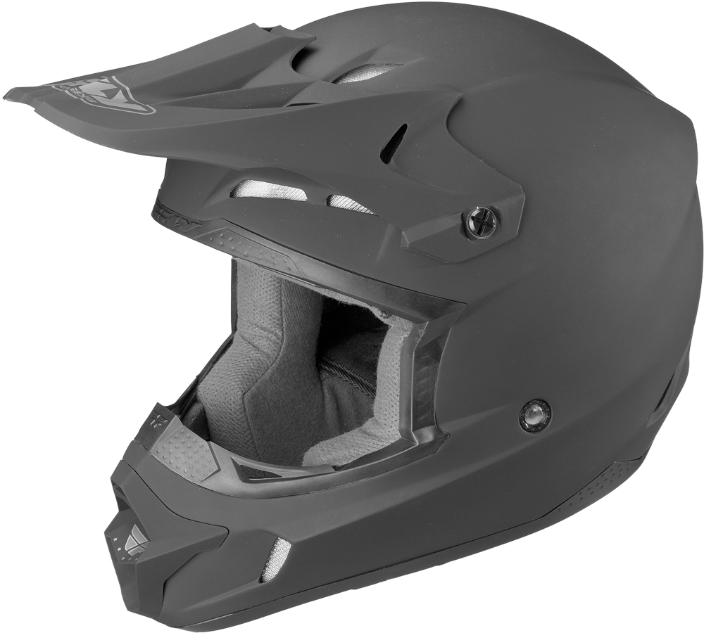 KINETIC RACING HELMET MATTE BLACK 2X